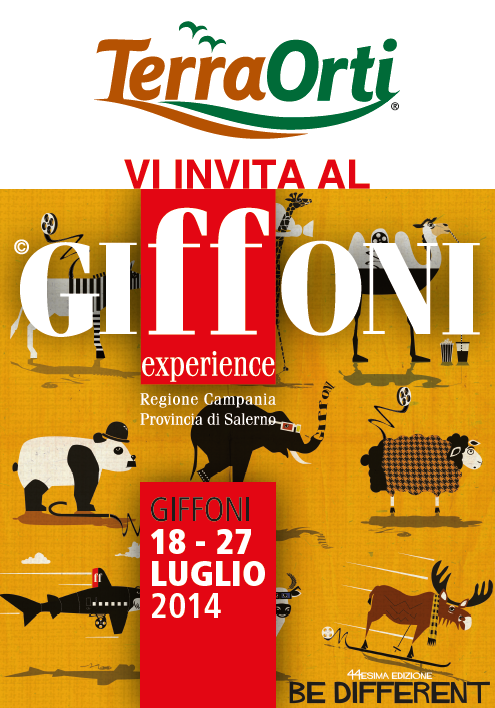 Be different: Terra Orti a Giffoni Experience 2014
