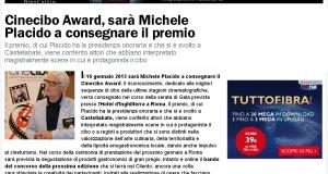 SalernoToday: Cinecibo Award sara' Michele Placido a consegnare il premio