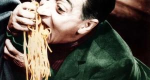 """Giovedi 3 Dicembre serata di Cinema e Cibo da Pizzart a Battipaglia  con inaugurazione della mostra """"Ciak, si mangia. La storia del cinema a tavola"""""""