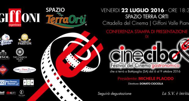 Conferenza stampa di presentazione di Cinecibo Festival