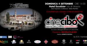 Conferenza stampa di presentazione della quinta edizione di Cinecibo Festival