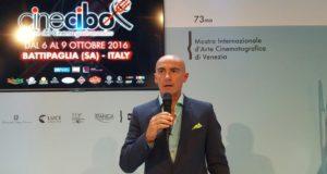 Grande risonanza al Festival di Venezia per la presentazione di Cinecibo