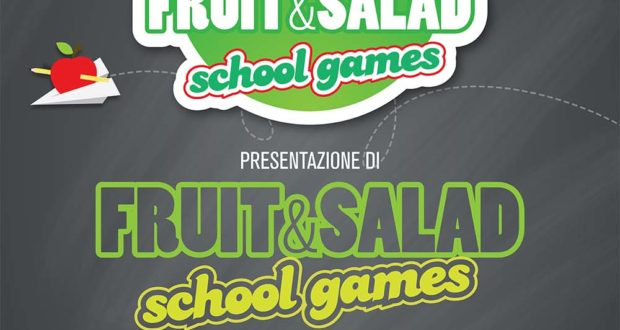 Partenza 'Fruit&Salad School Games'