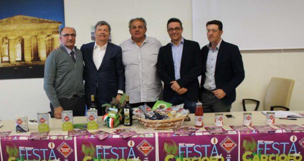 Mercoledì conferenza stampa della Festa del Carciofo di Paestum IGP