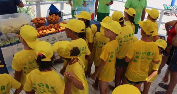Fruit&Salad on the Beach arriva in Marche e  Molise