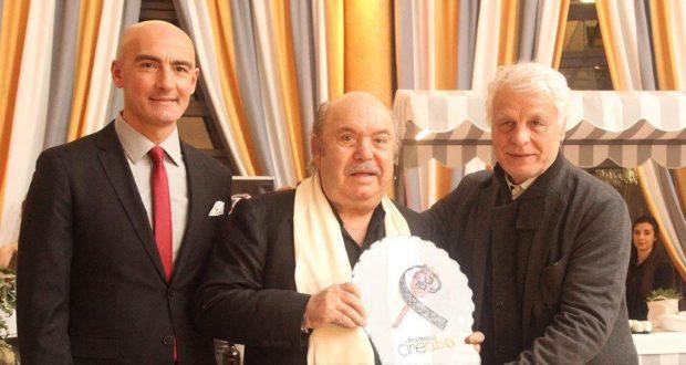 Boldi, Memphis, Ocone e Milani premiati a Roma il 6 Aprile da Placido con il Cinecibo Award