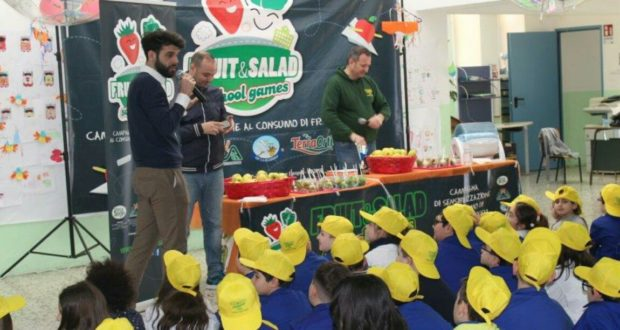 FRUIT&SALAD SCHOOL GAME APPRODA IN SICILIA