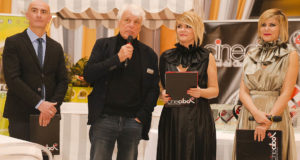 Placido premia Lillo, Caterina Guzzanti e Magalli ai Cinecibo Awards di Roma