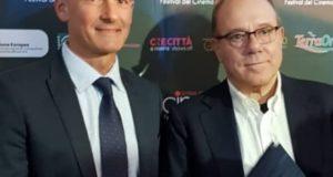 Carlo Verdone e Teresa Razzauti a Cinecittà per la nuova MasterClass di Cinecibo