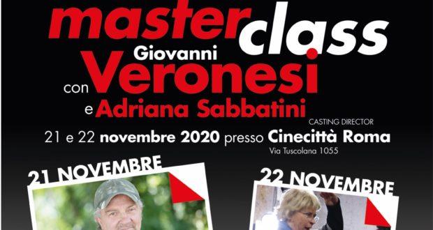 Pochi posti ancora disponibili a Cinecittà per la Masterclass Cinecibo con Giovanni Veronesi