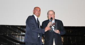 L'ideatore di Cinecibo, Donato Ciociola ha assegnato il premio speciale Cinecibo alla carriera all'attore Massimo Boldi